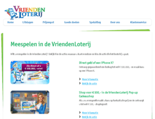 winnen.vriendenloterij.nl screenshot