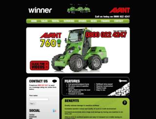 winneravant.co.uk screenshot