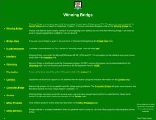 winningbridge.com screenshot