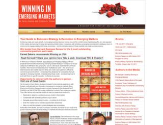 winninginemergingmarkets.com screenshot