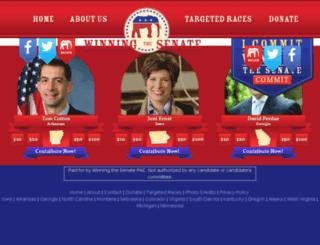 winningthesenate.com screenshot
