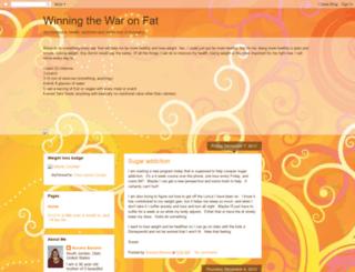 winningthewaronfat.blogspot.com screenshot