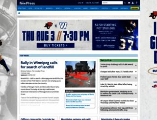 winnipegfreepress.com screenshot