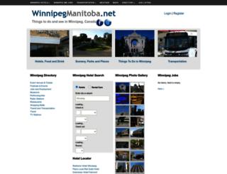 winnipegmanitoba.net screenshot