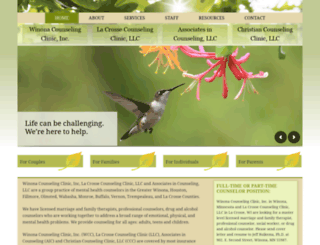 winonacounselingclinic.com screenshot