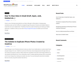 winphonedroid.com screenshot