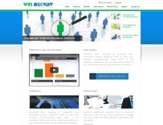 winrecruit.com screenshot