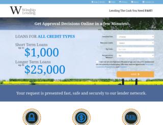 winshiplending.com screenshot