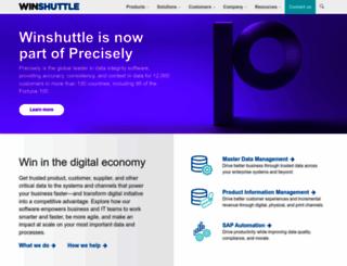 winshuttle.com screenshot