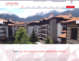 winslow-hotels.com screenshot