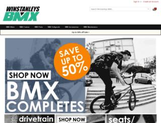 winstanleysbmx.com screenshot
