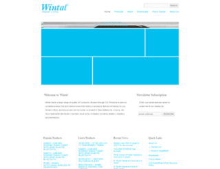 wintal.com.au screenshot