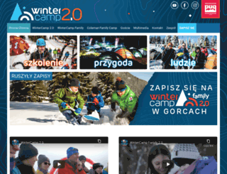 wintercamp.org.pl screenshot