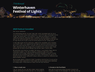 winterhavenfestival.org screenshot