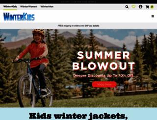 winterkids.com screenshot