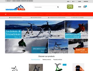 wintersport4all.nl screenshot