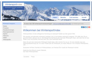 wintersportindex.de screenshot