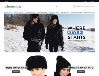 winterstyle.com screenshot