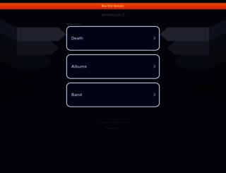 wintersun.fi screenshot