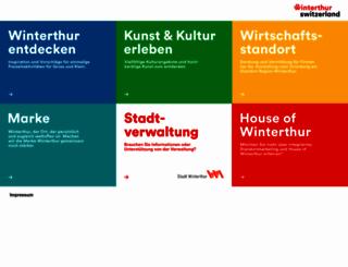 winterthur.ch screenshot