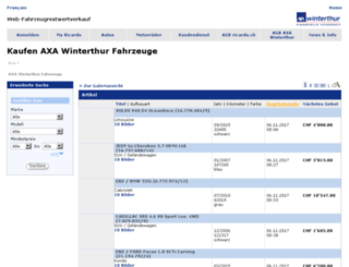 winterthur.ricardo.ch screenshot