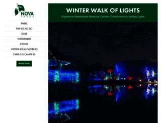 winterwalkoflights.com screenshot
