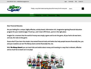 winthemoneygame.com screenshot