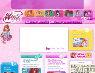 winxclub.com screenshot