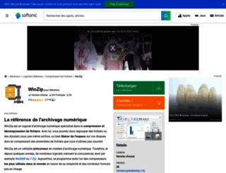 winzip.softonic.fr screenshot