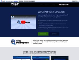 winzipdriverupdater.com screenshot