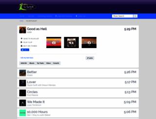 wiog.tunegenie.com screenshot