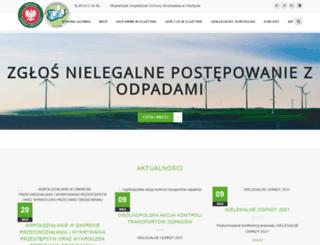 wios.olsztyn.pl screenshot