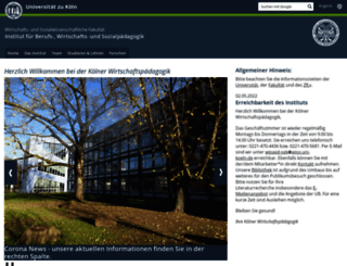 wipaed.uni-koeln.de screenshot