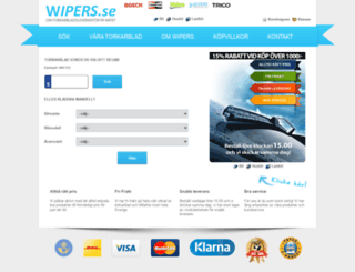 wipers.se screenshot