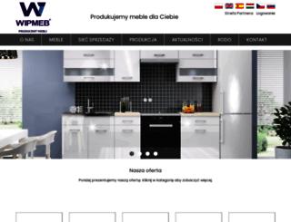 wipmeble.com.pl screenshot