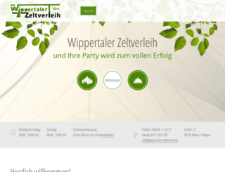 wippertaler-zeltverleih.de screenshot