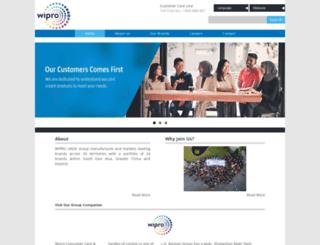 wipro-unza.com screenshot