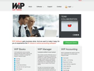 wipsoftware.com screenshot