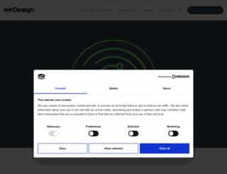 wir-design.de screenshot
