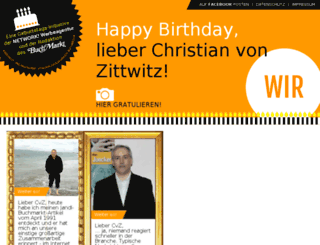 wir-feiern-cvz.de screenshot