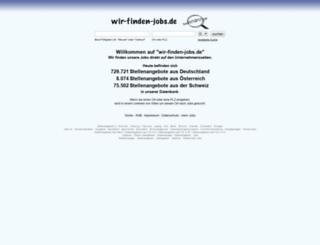 wir-finden-jobs.de screenshot