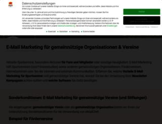 wir-fuers-kinderhospiz-sonnenblume.de screenshot