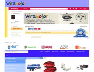 wiramotor.com screenshot