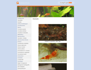 wirbellose.net screenshot