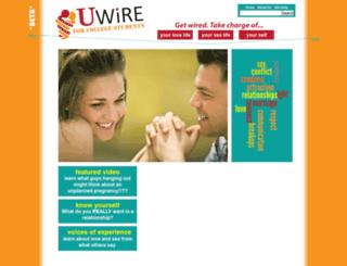 wire.wisc.edu screenshot