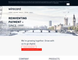 wirecard.co.uk screenshot
