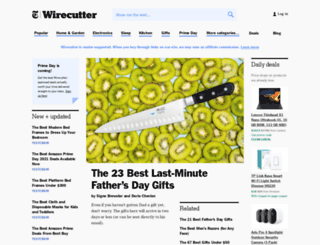 wirecutter.com screenshot