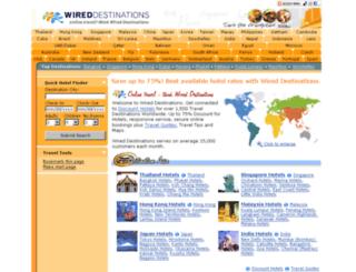 wired-destinations.com screenshot