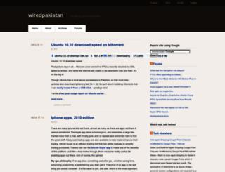wiredpakistan.com screenshot