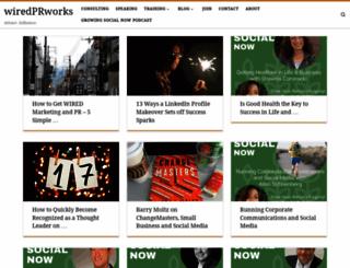 wiredprworks.com screenshot